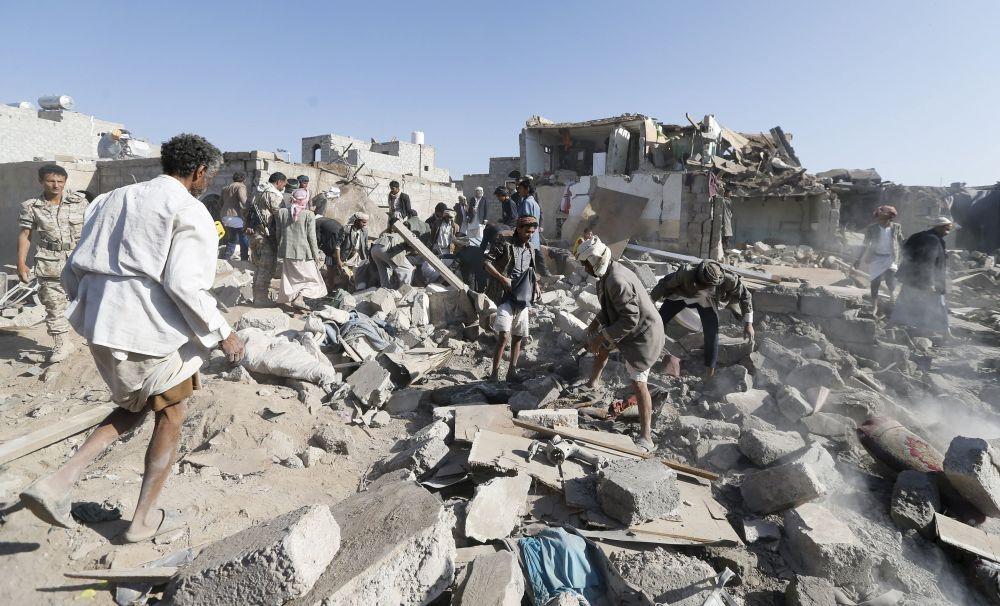 Yémen: Sanaa après les frappes aériennes