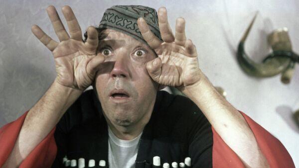 Юрий Никулин в роли Балбеса в кинофильме Кавказская пленница - Sputnik France