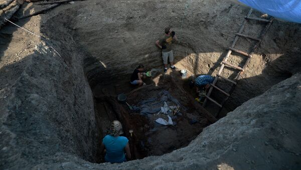Международная археолого-географическая экспедиция Кызыл-Курагино - Sputnik France