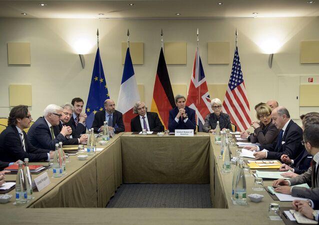 Négociations sur le nucléaire iranien à Lausanne le 28 mars