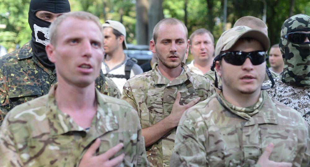 Les USA entraînent les militaires ukrainiens - Sputnik France