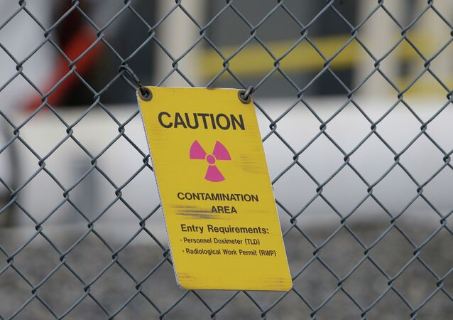Contamination radioactive