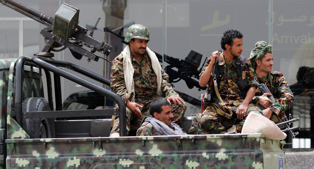 Combattants houthis