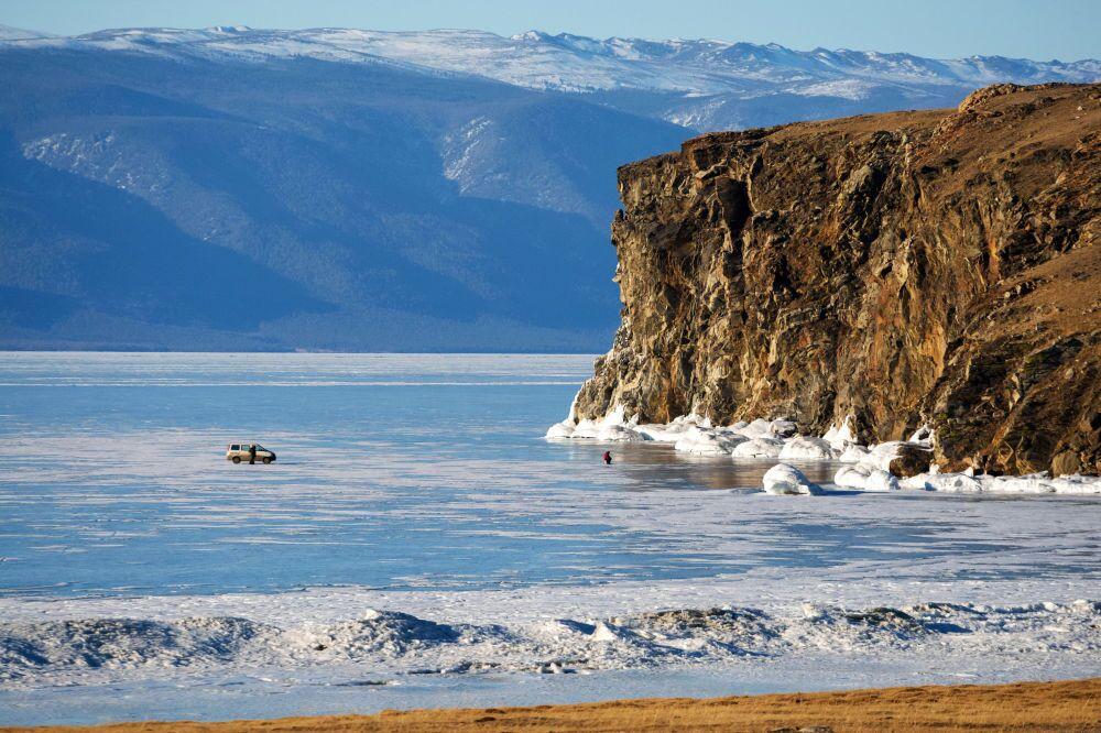 Île Olkhon sur le lac Baïkal