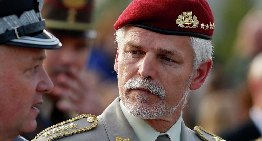 Czech's Republic Chief of Defence, Gen. Petr Pavel