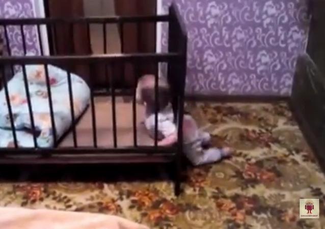 Un bébé en cavale