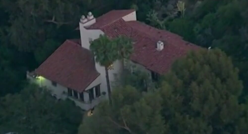 Maison d'Andrew Getty à Hollywood Hills