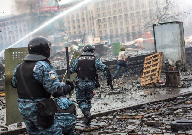 Kiev en février 2014