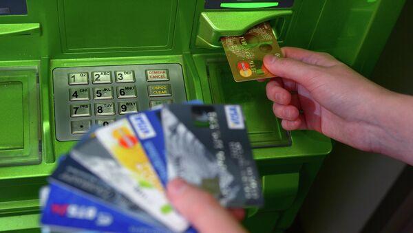 Les cartes bancaires Visa et Mastercard - Sputnik France