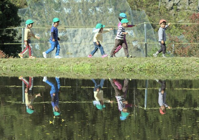 Les enfants, Japon