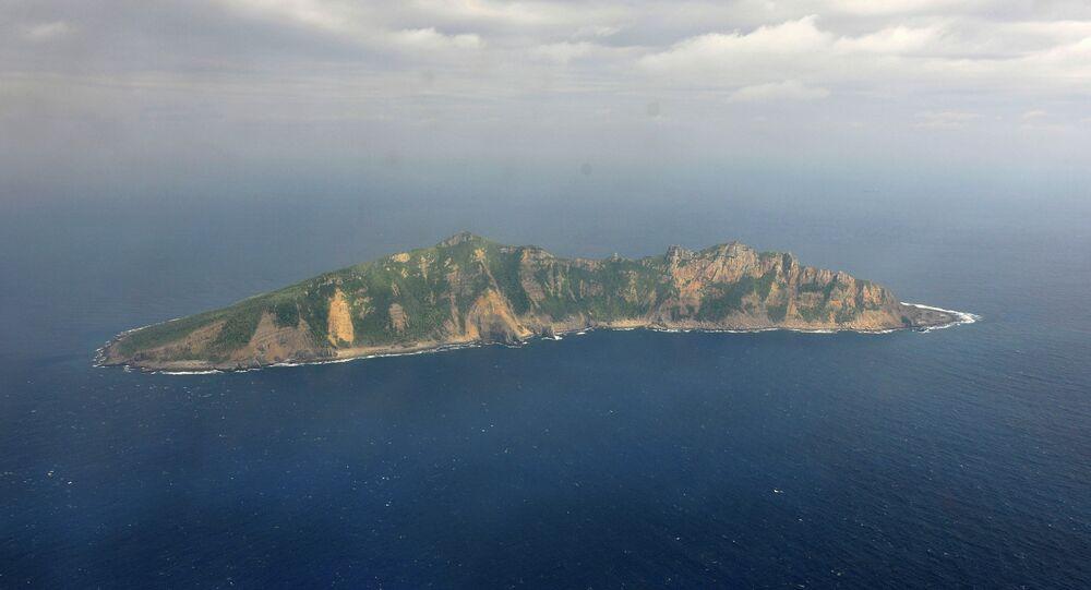 Une des îles Senkaku (Diaoyutai)