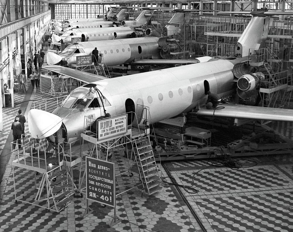 Des Yak-40 construits à Saratov