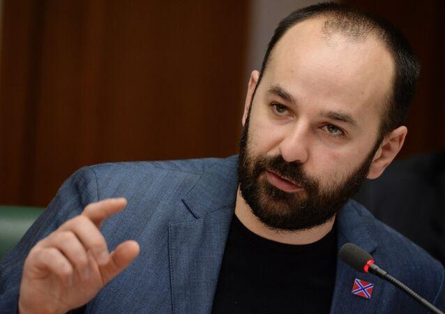 Konstantin Dolgov, co-président du Front populaire de Novorossia