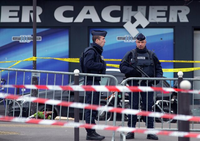 Magasin Hyper Cacher à Paris