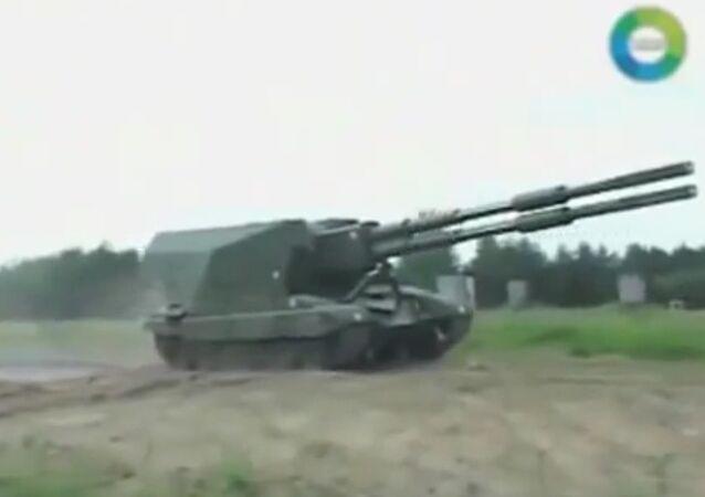 Canon automoteur Koalitsia, fleuron de l'artillerie russe