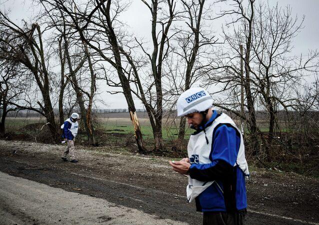 Un employé de l'OSCE