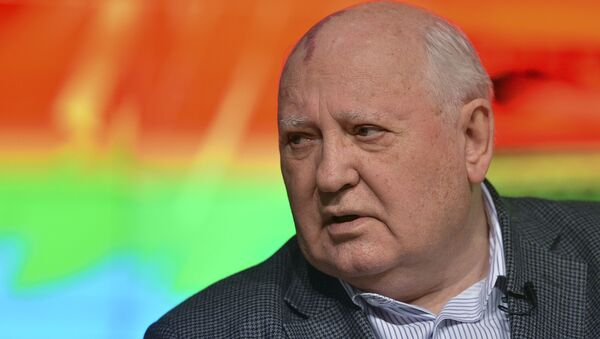 Ancien président de l'URSS Mikhaïl Gorbatchev - Sputnik France