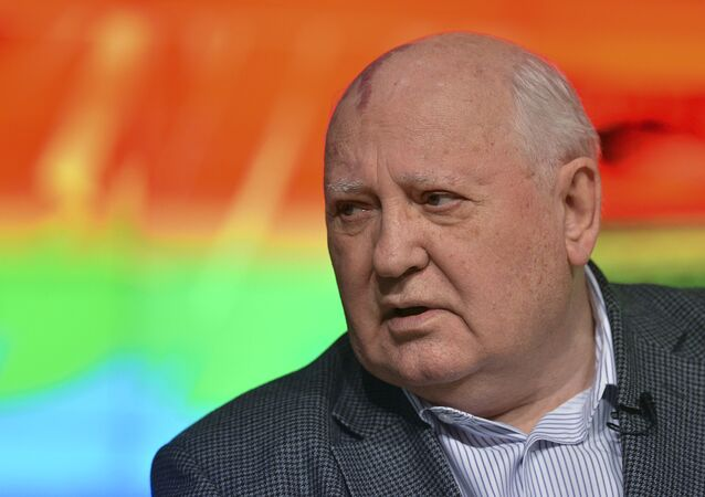Ancien président de l'URSS Mikhaïl Gorbatchev