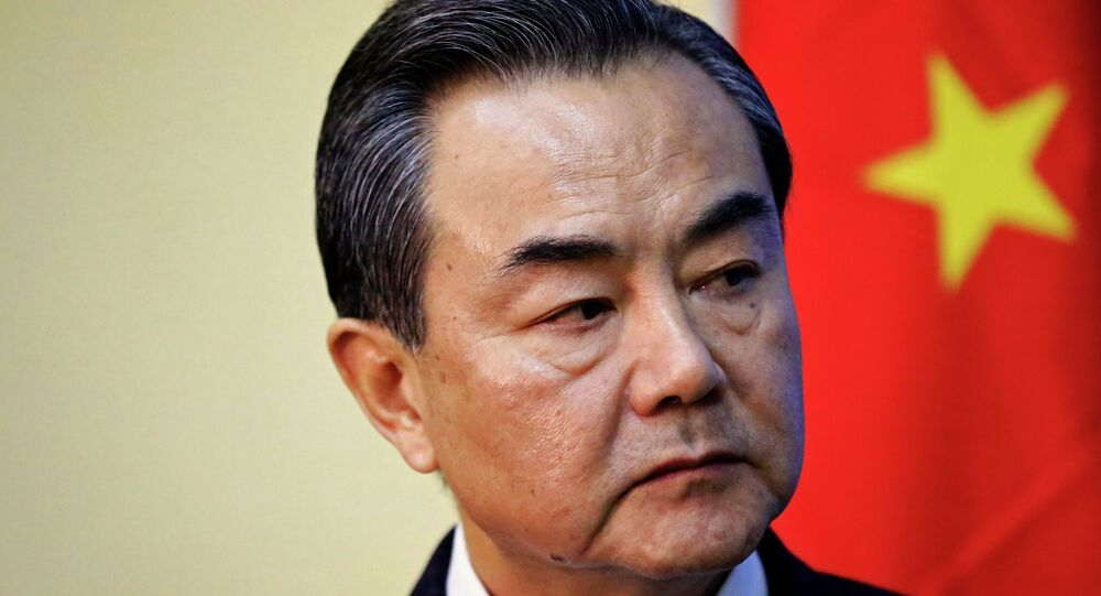 Wang Yi. Archive photo