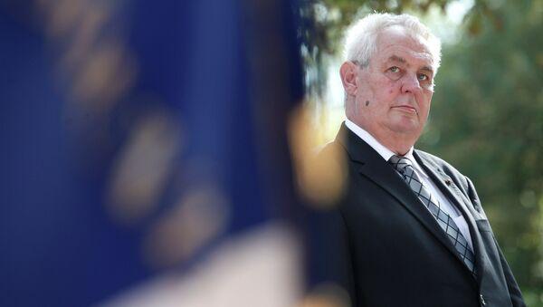 le président tchèque Milos Zeman - Sputnik France