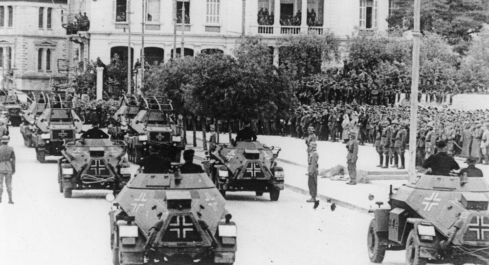 Grèce. Occupation nazie.  1941