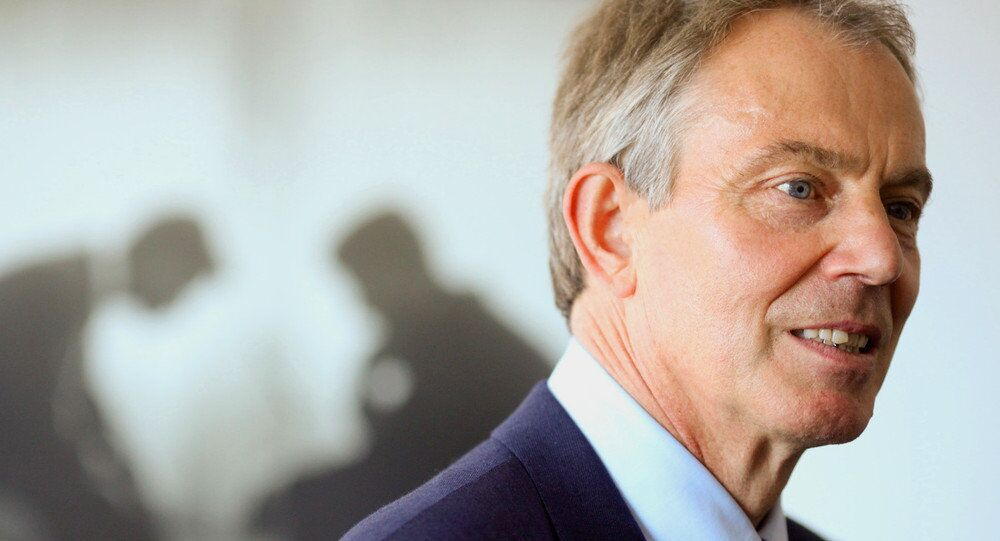 L'ex-premier ministre britannique Tony Blair