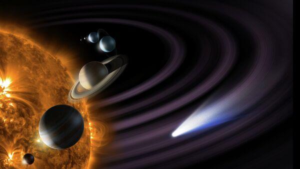 Макет Солнечной системы - Sputnik France