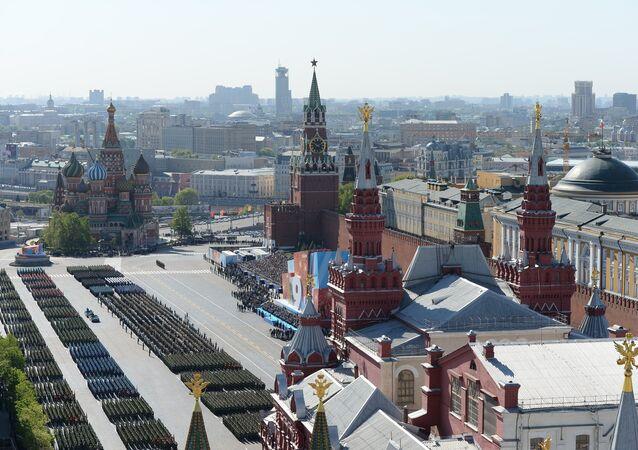 69e anniversaire de la Victoire à Moscou