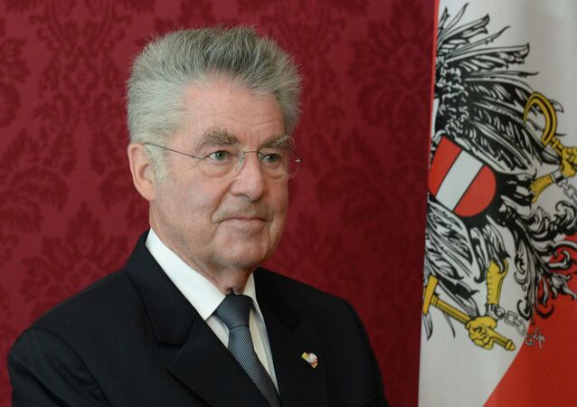 Heinz Fischer. Archive photo