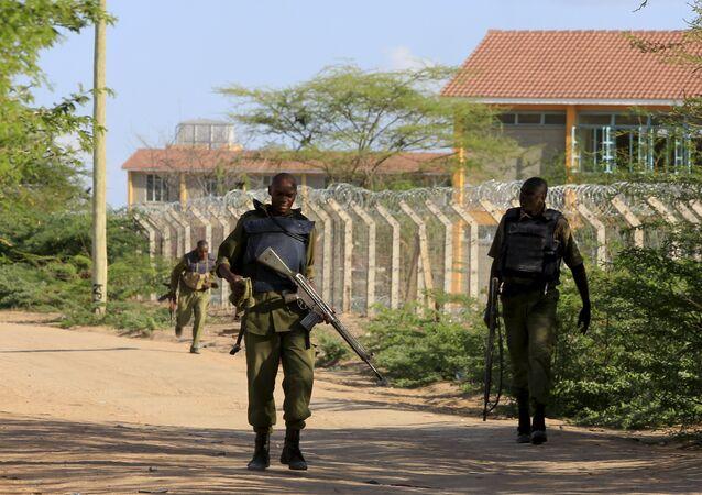 Soldats kenyans