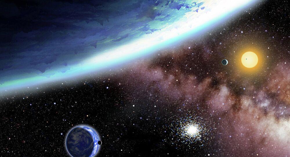 Découverte de sept nouvelles planètes géantes
