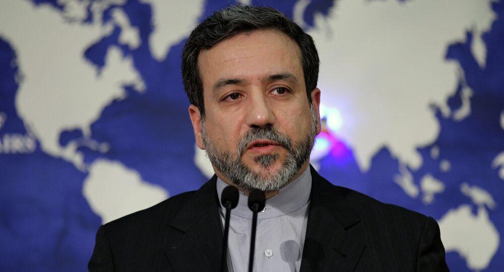 le vice-ministre iranien des Affaires étrangères, Abbas Araghchi