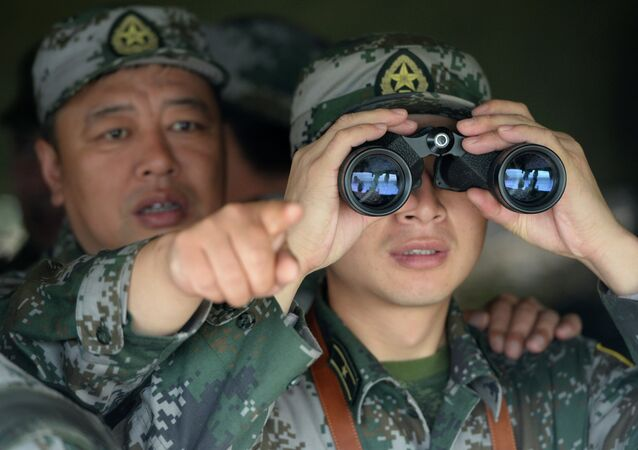 Militaires chinois aux exercices conjoints russo-chinois (Archives)
