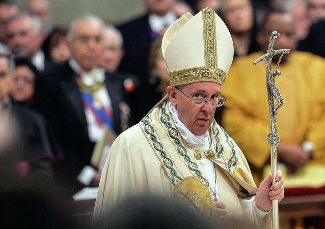 Le pape François, Avr. 11, 2015