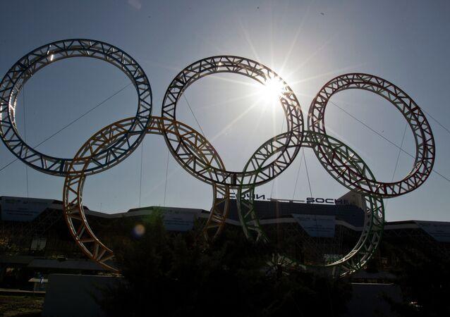 Anneaux olympiques (archives)