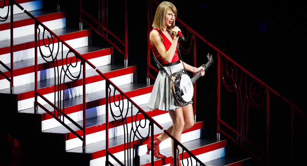 La chanteuse américaine Taylor Swift