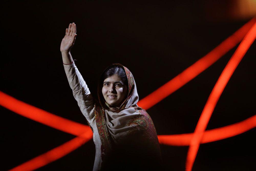 La militante pakistanaise des droits de l'homme Malala Yousafzai