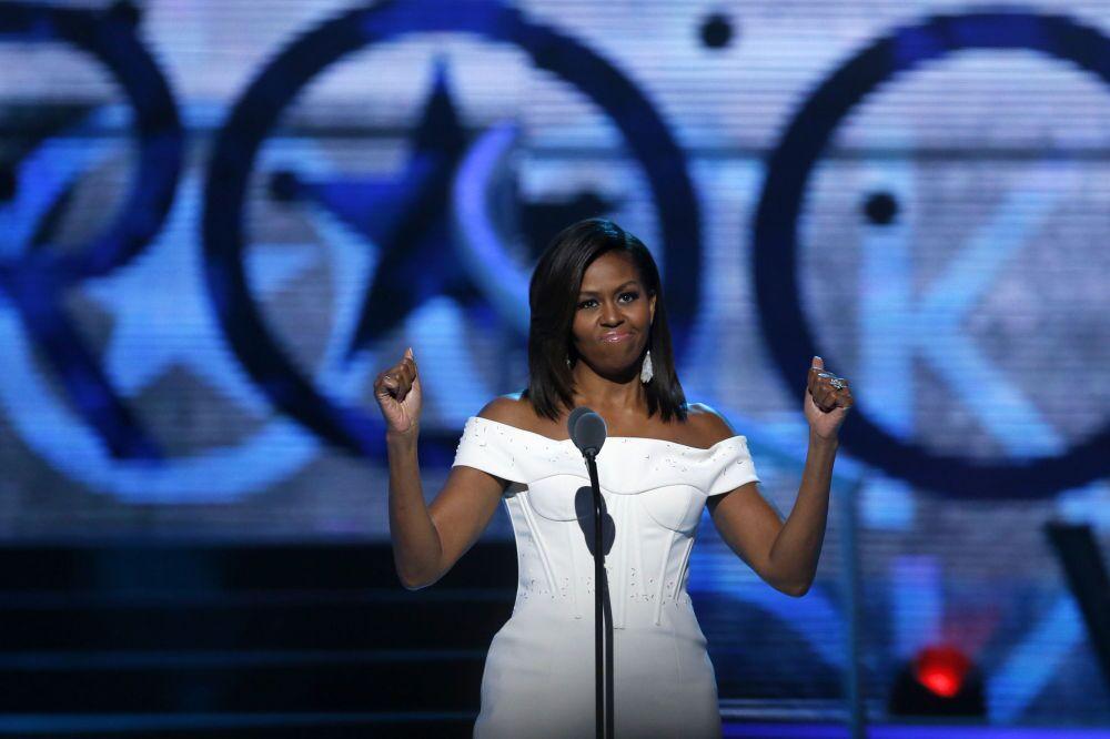 La première dame des Etats-Unis Michelle Obama