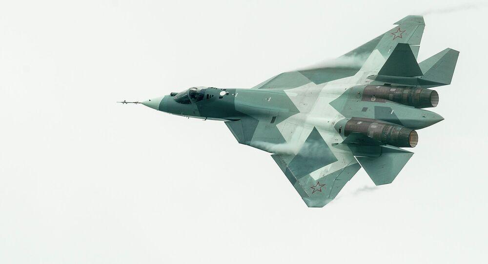 Le chasseur de 5e génération russe T-50