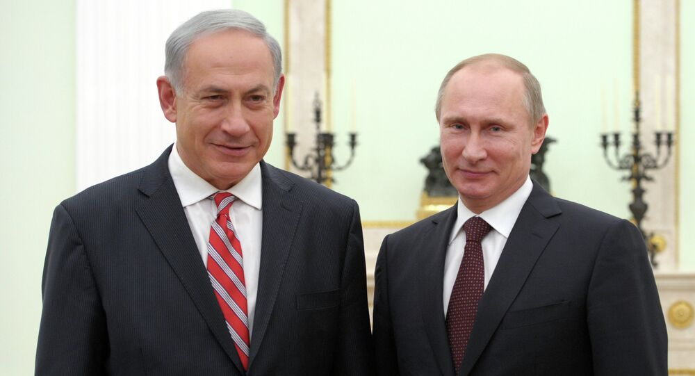 Vladimir Poutine et Benjamin Netanyahu. Archive photo