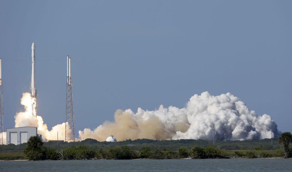 Tir du lanceur Falcon 9