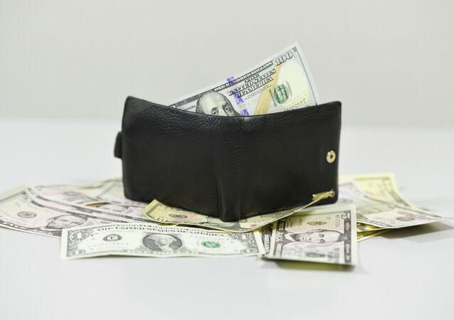 Dollars en portefeuille