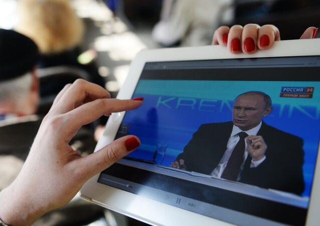Ligne directe avec Vladimir Poutine (le 17 avril 2014)