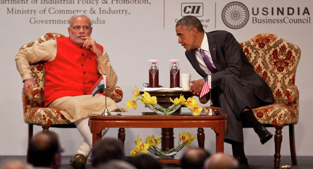 Barack Obama et Narendra Modi, Jan. 26, 2015.