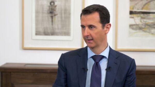 Президент Сирии Башар Асад - Sputnik France