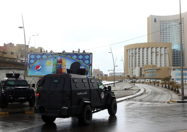 Forces de sécurité lybiennes