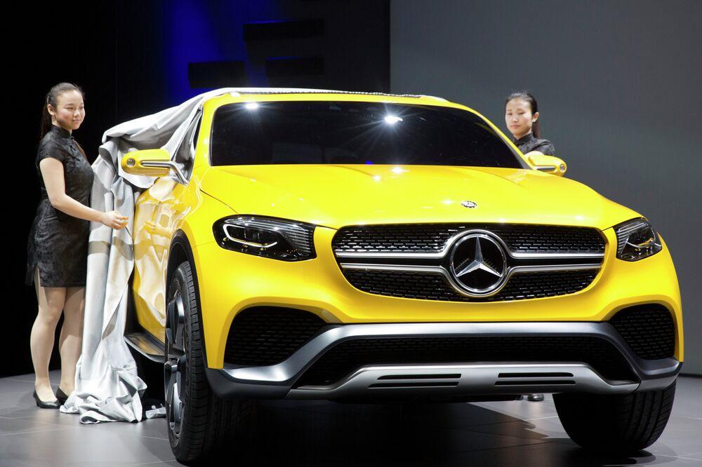 Le Mercedes Benz Coupé GLA