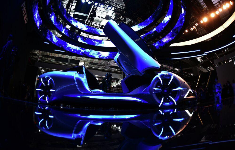 Un concept-car de l'entreprise chinoise Pateo