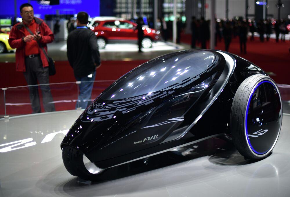 Un concept–car Toyota FV2