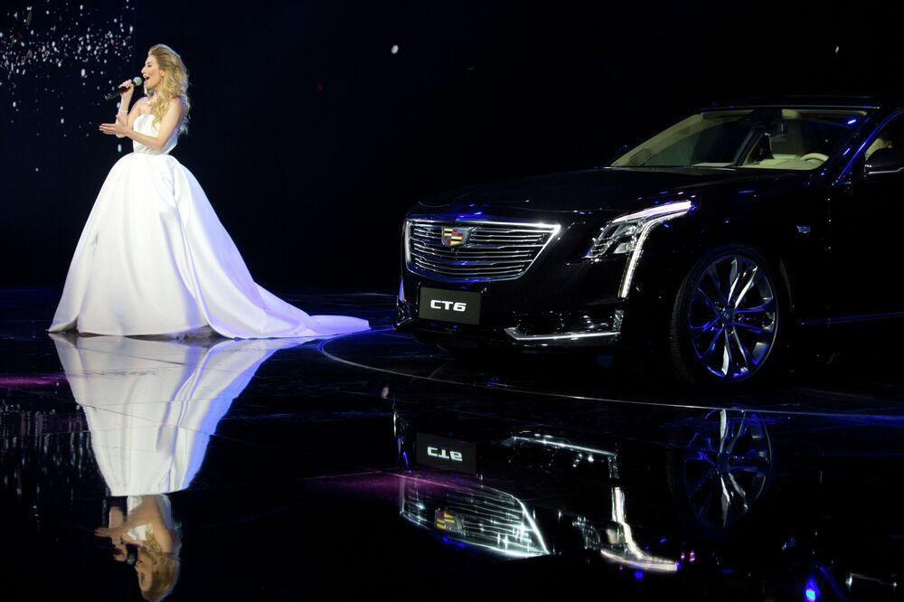 La berline de luxe Cadillac CT6 de General Motors